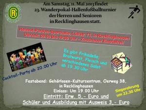 Fussball-Einladung-Prgramm am 11.05.2013
