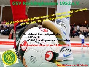 Fussballabteilung-Plakate am 07.06.14