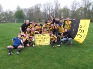 Nord Ostdt. Fussballmeister 2014 GSC Goettingen
