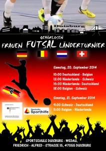 Futsal Laenderturnier Frauen